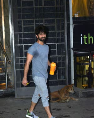 Shahid Kapoor - Photos: Celebs Spotted at Gym