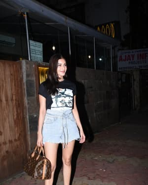 Amyra Dastur - Photos: Celebs Spotted At Indigo In Bandra   Picture 1667906