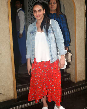 Esha Deol - Photos: Celebs Spotted At Bayroute In Juhu