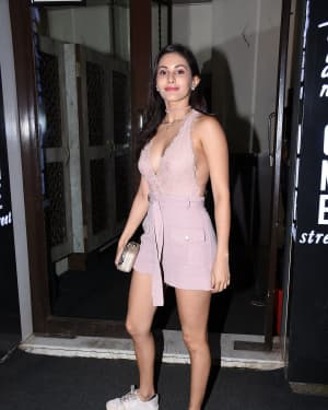Amyra Dastur - Photos: Celebs Spotted at Bastian | Picture 1669690