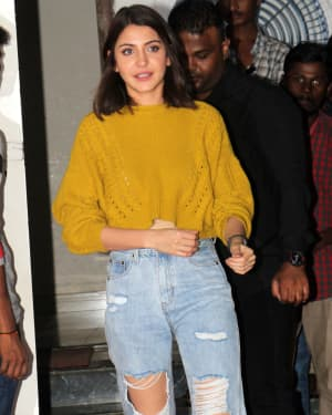 Photos: Anushka Sharma Spotted Post A Brand Shoot At Filmcity