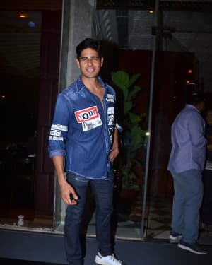 Sidharth Malhotra - Photos: Celebs Spotted At Bkc