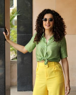 Taapsee Pannu Promoted Game Over At Novotel