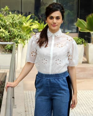 Photos: Taapsee Pannu For Promotions Of Game Over