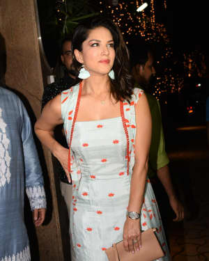 Sunny Leone - Photos: Bollywood Celebs At Raza Beig's Eid Party