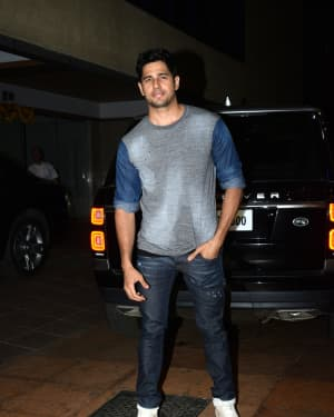 Sidharth Malhotra - Photos: Ekta Kapoor's Birthday Party At Her Residence In Juhu   Picture 1653130