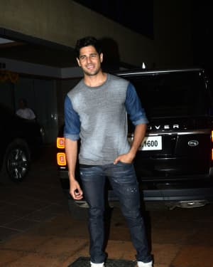 Sidharth Malhotra - Photos: Ekta Kapoor's Birthday Party At Her Residence In Juhu   Picture 1653133