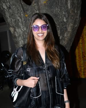 Anushka Ranjan - Photos: Ekta Kapoor's Birthday Party At Her Residence In Juhu