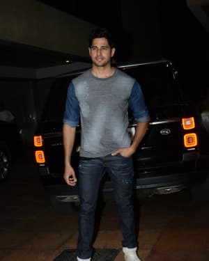 Sidharth Malhotra - Photos: Ekta Kapoor's Birthday Party At Her Residence In Juhu   Picture 1653131