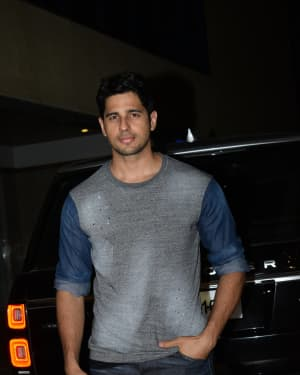 Sidharth Malhotra - Photos: Ekta Kapoor's Birthday Party At Her Residence In Juhu   Picture 1653132