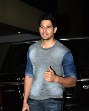 Sidharth Malhotra - Photos: Ekta Kapoor's Birthday Party At Her Residence In Juhu