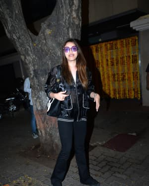 Anushka Ranjan - Photos: Ekta Kapoor's Birthday Party At Her Residence In Juhu | Picture 1653182