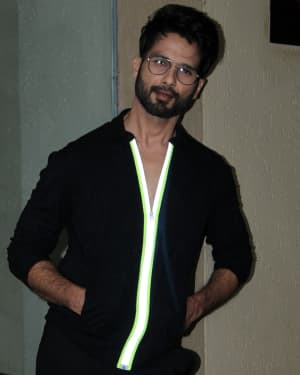 Shahid Kapoor - Photos: Media Interactions For Film Kabir Singh At Jw Marriott