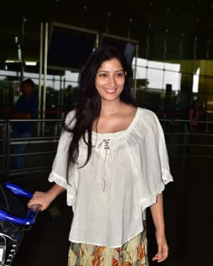 Photos: Niharica Raizada Left For Sooryavanshi Schedule