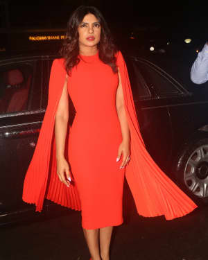 Priyanka Chopra - Photos: Dinner Party For The New Campaign Launch Of Bumble | Picture 1654010