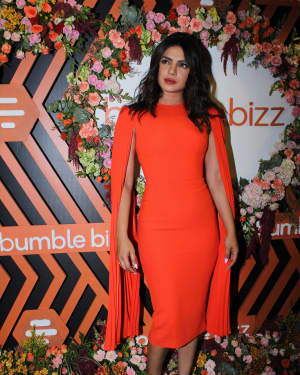 Priyanka Chopra - Photos: Dinner Party For The New Campaign Launch Of Bumble | Picture 1654003