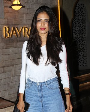 Malavika Mohanan - Photos: Celebs Spotted At Bayroute In Juhu