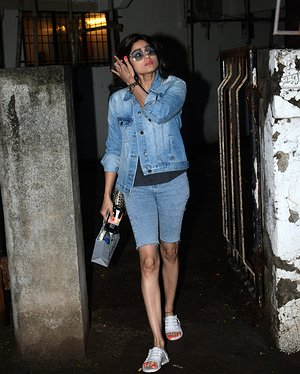Shamita Shetty - Photos: Celebs Spotted At Kromakay Salon In Juhu | Picture 1655300