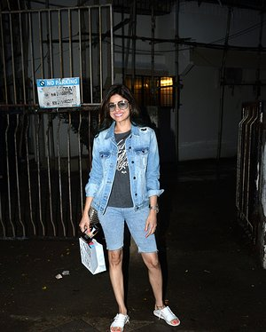 Shamita Shetty - Photos: Celebs Spotted At Kromakay Salon In Juhu | Picture 1655302