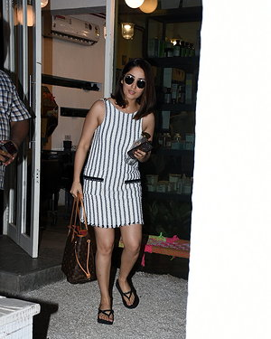 Yami Gautam - Photos: Celebs Spotted Bblunt Salon At Bandra