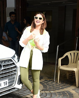 Parineeti Chopra - Photos: Celebs Spotted At Khar Gymkhana | Picture 1655319