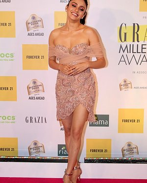 Amruta Khanvilkar - Photos: Red Carpet Of 1st Edition Of Grazia Millennial Awards 2019   Picture 1655527