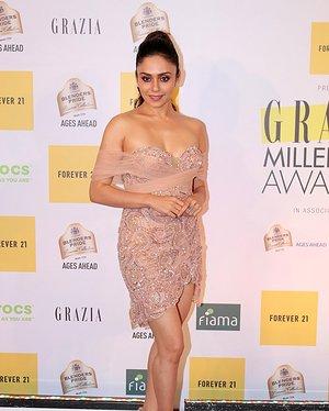 Amruta Khanvilkar - Photos: Red Carpet Of 1st Edition Of Grazia Millennial Awards 2019   Picture 1655530