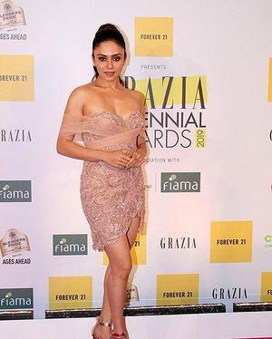 Amruta Khanvilkar - Photos: Red Carpet Of 1st Edition Of Grazia Millennial Awards 2019   Picture 1655523