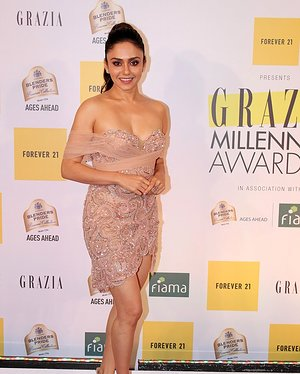 Amruta Khanvilkar - Photos: Red Carpet Of 1st Edition Of Grazia Millennial Awards 2019   Picture 1655532