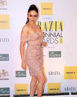 Amruta Khanvilkar - Photos: Red Carpet Of 1st Edition Of Grazia Millennial Awards 2019   Picture 1655525