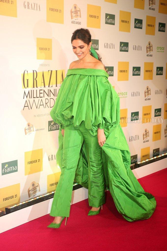 Deepika Padukone - Photos: Red Carpet Of 1st Edition Of Grazia Millennial Awards 2019 | Picture 1656043