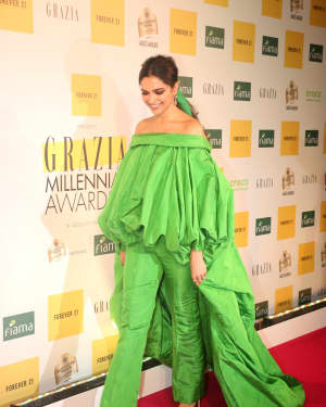 Deepika Padukone - Photos: Red Carpet Of 1st Edition Of Grazia Millennial Awards 2019