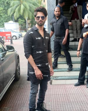 Shahid Kapoor - Photos:  Screening Of Kabir Singh At Pvr Andheri
