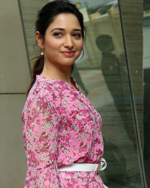 Photos: Tamanna Bhatia Spotted For Her Digital Series Shoot Vanity Diaries
