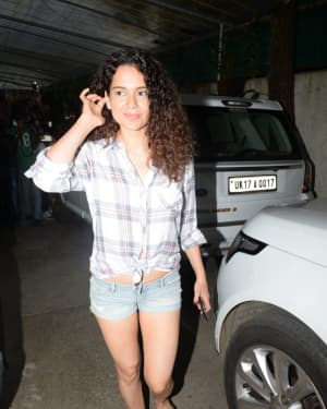 Kangana Ranaut - Photos: Celebs Spotted At Sunny Super Sound | Picture 1657353