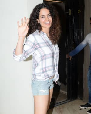 Kangana Ranaut - Photos: Celebs Spotted At Sunny Super Sound | Picture 1657354