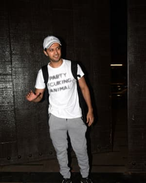 Vatsal Sheth - Photos: Celebs Spotted at Gym | Picture 1657357