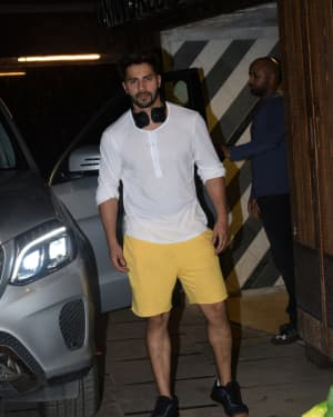 Varun Dhawan - Photos: Celebs Spotted at Gym | Picture 1657363