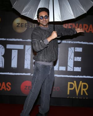 Ayushmann Khurrana - Photos: Screening Of Film Article 15 At Pvr Icon | Picture 1657448