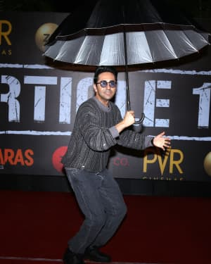 Ayushmann Khurrana - Photos: Screening Of Film Article 15 At Pvr Icon | Picture 1657450