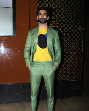 Nandish Singh Sandhu - Photos: Trailer Launch Of Film Family Of Thakurganj | Picture 1657781