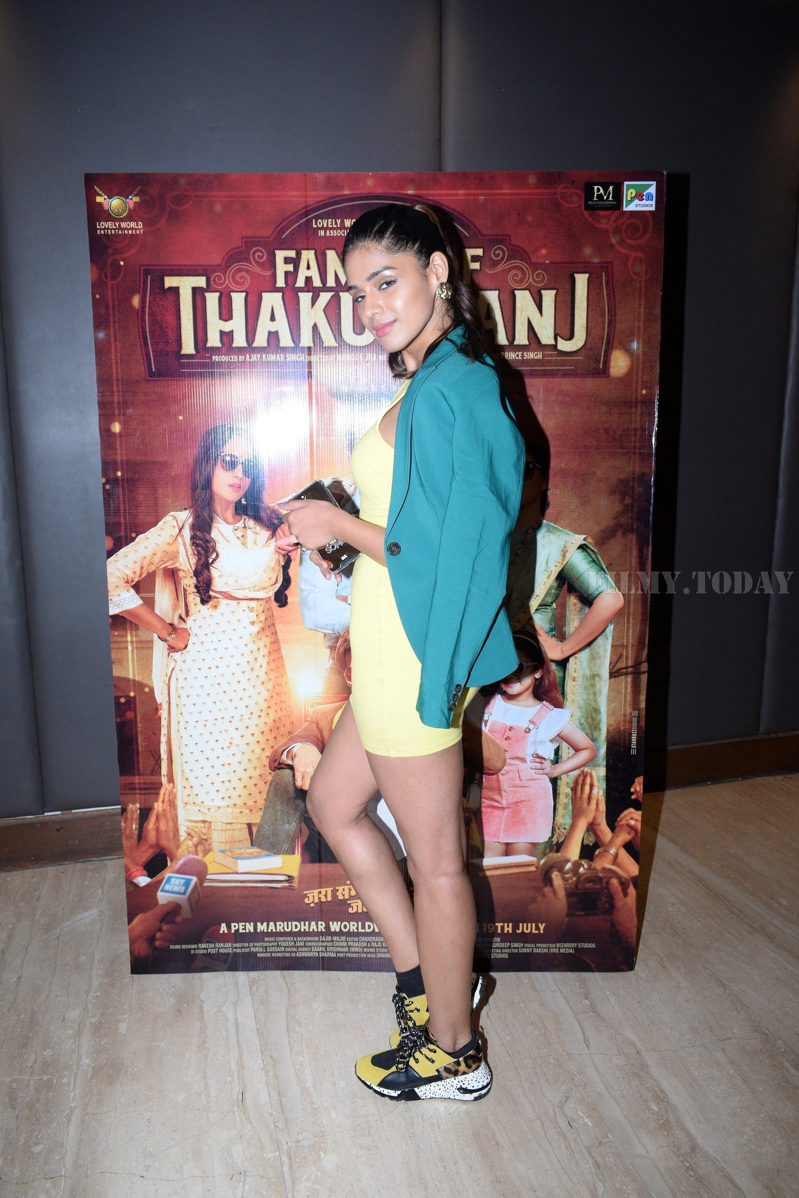 Pranati Rai Prakash - Photos: Promotion Of Film Family Of Thakurganj At Andheri | Picture 1657984