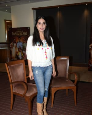 Mahie Gill - Photos: Promotion Of Film Family Of Thakurganj At Andheri | Picture 1657980