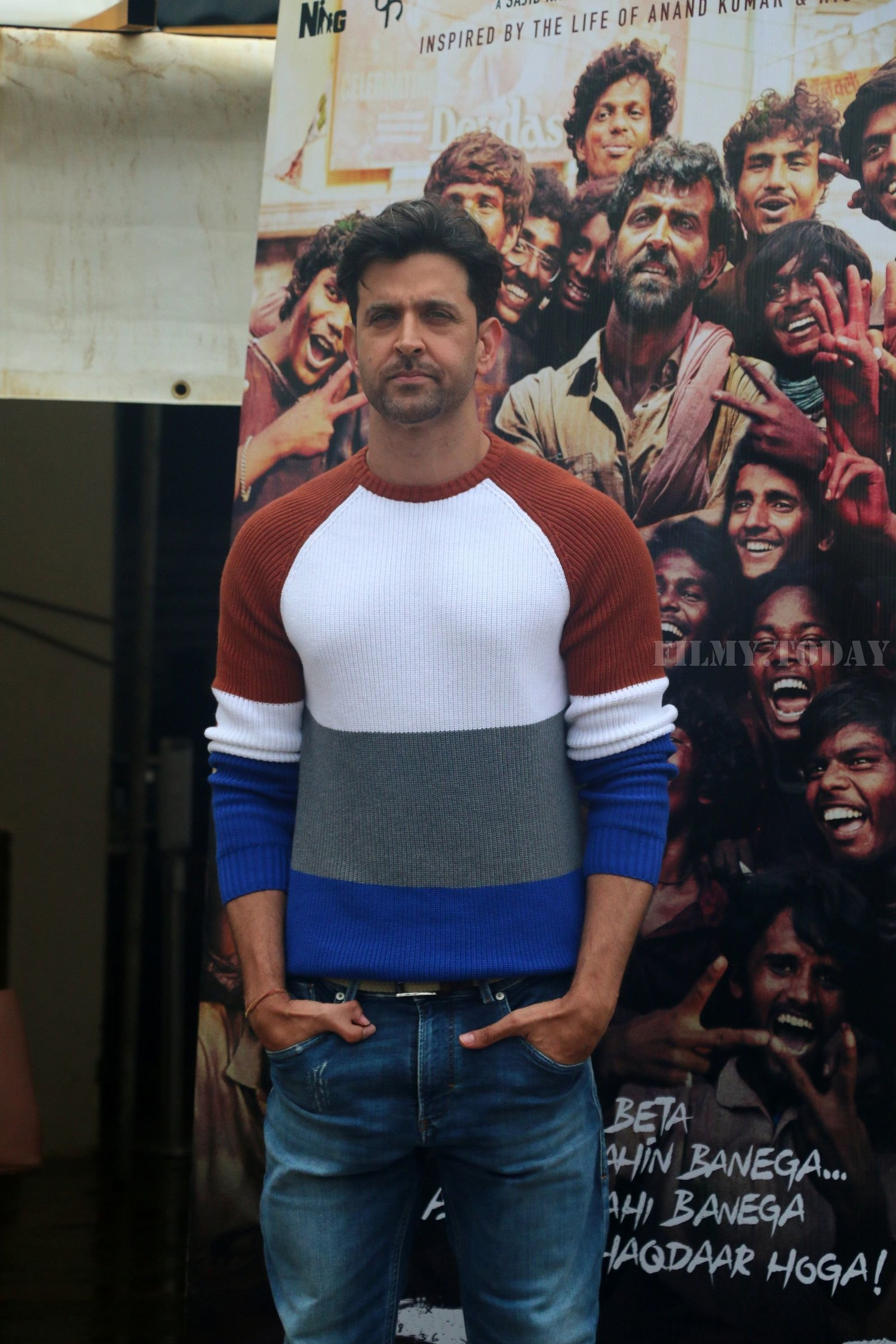 Hrithik Roshan - Photos: Promotions Of Film Super 30 At Sun N Sand In Juhu | Picture 1658403