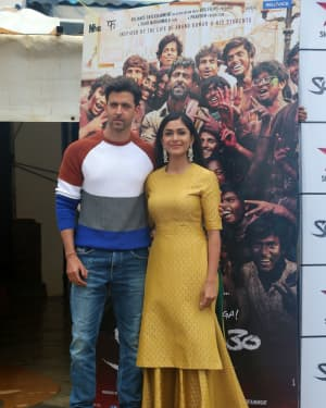 Photos: Promotions Of Film Super 30 At Sun N Sand In Juhu | Picture 1658399