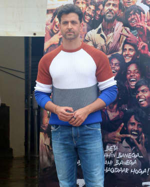 Hrithik Roshan - Photos: Promotions Of Film Super 30 At Sun N Sand In Juhu | Picture 1658402