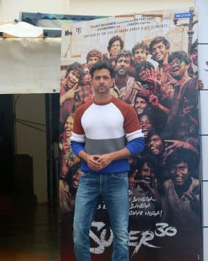 Hrithik Roshan - Photos: Promotions Of Film Super 30 At Sun N Sand In Juhu | Picture 1658400