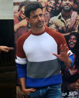 Hrithik Roshan - Photos: Promotions Of Film Super 30 At Sun N Sand In Juhu | Picture 1658405