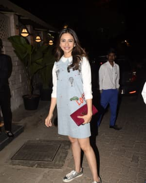 Rakul Preet Singh - Photos: Celebs at Bayrout Restaurant for dinner party