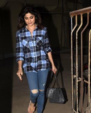 Photos: Shamita Shetty Spotted at Kromakay Salon